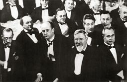group with Medtner, 1925
