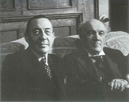 Medtner and Rachmaninoff, 1938